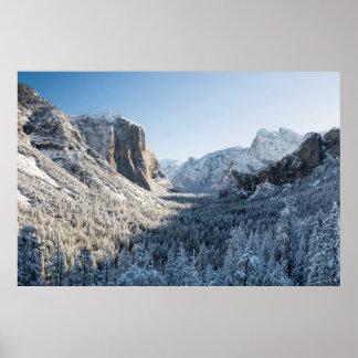 米国、カリフォルニアのヨセミテ国立公園2 ポスター