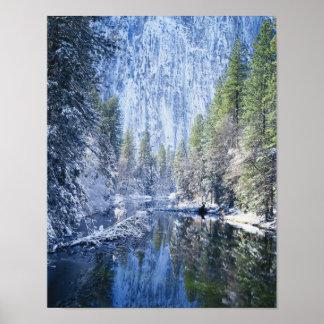 米国、カリフォルニアのヨセミテ国立公園、 ポスター