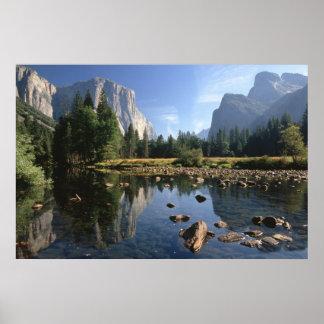 米国、カリフォルニアのヨセミテ国立公園、3 ポスター