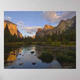 米国、カリフォルニアのヨセミテ国立公園、Merced ポスター