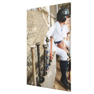米国、カリフォルニアのLadera牧場、男の子(10-11)からの キャンバスプリント