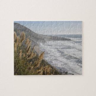 米国、カリフォルニアのMendocinoの海岸 ジグソーパズル