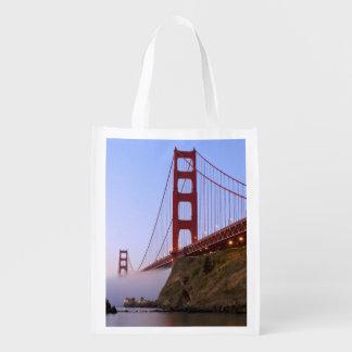 米国、カリフォルニア、サンフランシスコ。 ゴールデンゲート3 エコバッグ