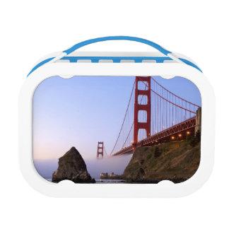 米国、カリフォルニア、サンフランシスコ。 ゴールデンゲート3 ランチボックス