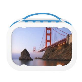 米国、カリフォルニア、サンフランシスコ。 ゴールデンゲート ランチボックス