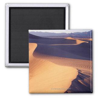米国、カリフォルニア、デスヴァレーの砂丘、夜明け マグネット