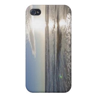 米国、カリフォルニア、ロサンゼルスの海景 iPhone 4 ケース
