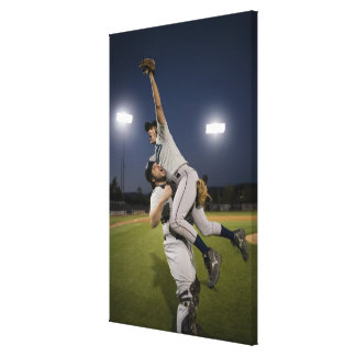 米国、カリフォルニア、San Bernardinoの野球10 キャンバスプリント