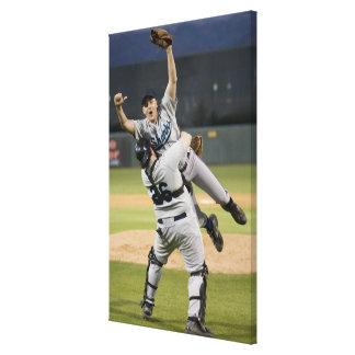 米国、カリフォルニア、San Bernardinoの野球7 キャンバスプリント
