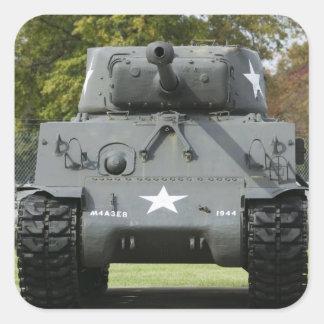 米国、ケンタッキーの城砦Knox: Patton博物館の スクエアシール