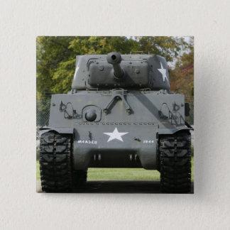 米国、ケンタッキーの城砦Knox: Patton博物館の 缶バッジ