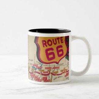 米国、ケンタッキー、ボーリング・グリーン: 国民のコルベット5 ツートーンマグカップ