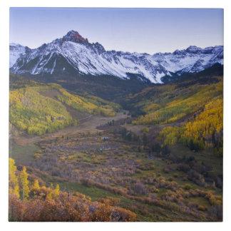 米国、コロラド州のロッキー山脈、サンファン タイル