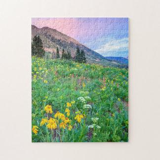 米国、コロラド州の頂点に達されたビュート。 景色2 ジグソーパズル
