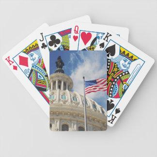 米国、コロンビア、Washington D.C.の国会議事堂の建物 バイスクルトランプ