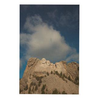 米国、サウスダコタのブラックヒルズの国有林 ウッドウォールアート