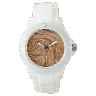 米国、ジョージアのJekyllの島、抽象芸術 腕時計