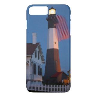 米国、ジョージアのTybeeの島、旗の飛行 iPhone 8 Plus/7 Plusケース