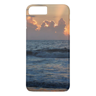 米国、ジョージアのTybeeの島、Tybeeの島のビーチ iPhone 8 Plus/7 Plusケース