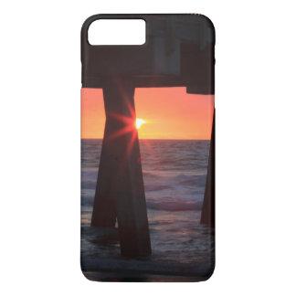 米国、ジョージアのTybeeの島、Tybee桟橋 iPhone 8 Plus/7 Plusケース