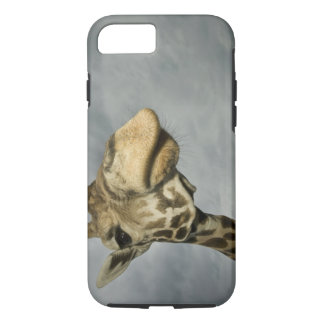 米国、テキサス州の化石の縁の野性生物区域、キリン iPhone 8/7ケース