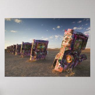 米国、テキサス州の突出地域区域、アマリロ: キャデラック2 ポスター