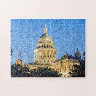 米国、テキサス州、オースティン。 国会議事堂の建物(1888年) 3 ジグソーパズル