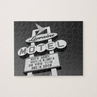 米国、テネシー州、メンフィスの国民の人権 ジグソーパズル
