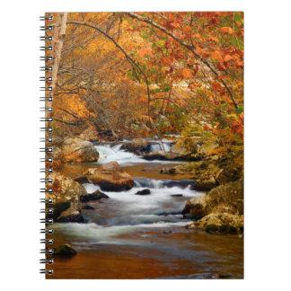 米国、テネシー州。 急ぐ山の入り江 ノートブック