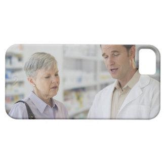 米国、ニュージャージー、ジャージーシティーの年長の女性 iPhone SE/5/5s ケース