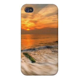 米国、ニュージャージー、Cape May。 Cape May 4で景色 iPhone 4 Case