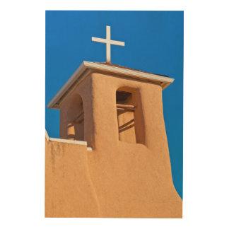 米国、ニューメキシコ。 上のランチョDe Taos ウッドウォールアート