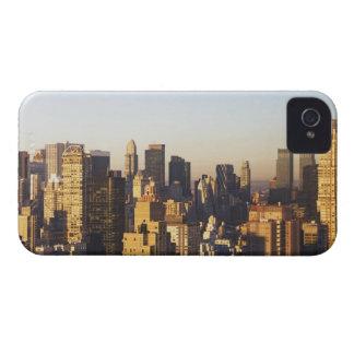 米国、ニューヨークシティ、マンハッタンのスカイライン2 Case-Mate iPhone 4 ケース