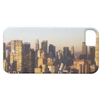 米国、ニューヨークシティ、マンハッタンのスカイライン2 iPhone SE/5/5s ケース