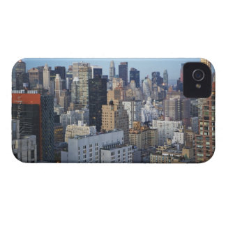 米国、ニューヨークシティ、マンハッタンのスカイライン Case-Mate iPhone 4 ケース