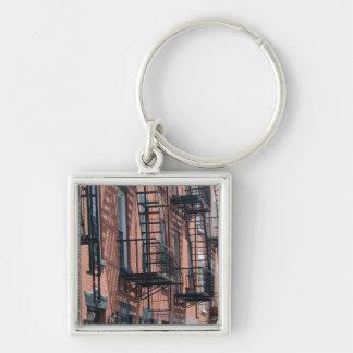 米国、ニューヨーク、ニューヨークシティ、ブルックリン: 玉石 キーホルダー