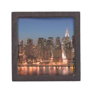 米国、ニューヨーク、ニューヨークシティ、マンハッタン: 空気 ギフトボックス