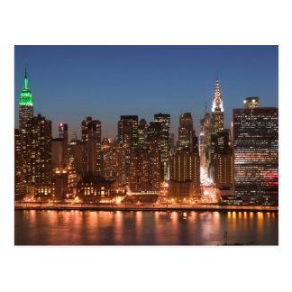米国、ニューヨーク、ニューヨークシティ、マンハッタン: 空気 ポストカード