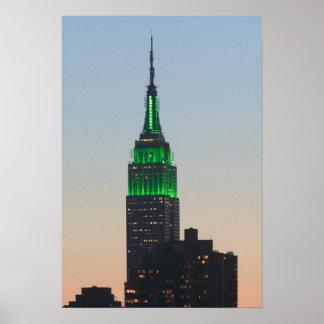 米国、ニューヨーク、ニューヨークシティ、マンハッタン: 2 ポスター