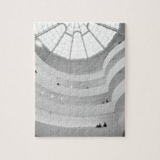 米国、ニューヨーク、ニューヨークシティ: Guggenheim ジグソーパズル