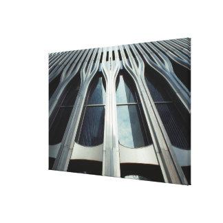 米国、ニューヨーク、マンハッタン、世界貿易センター キャンバスプリント