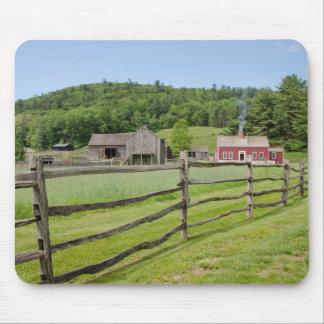 米国、ニューヨーク、Cooperstownの農家の博物館 マウスパッド