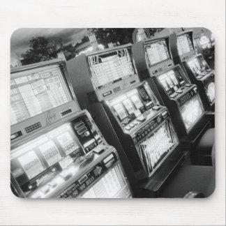 米国、ネバダ、ラスベガス: カジノのスロットマシン/ マウスパッド