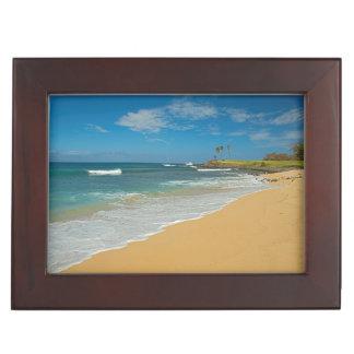 米国、ハワイのモロカイ島の島、3マイルのビーチ ジュエリーボックス