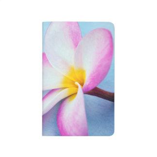 米国、ハワイ、オアフのプルメリアは開花2で開花します ポケットジャーナル