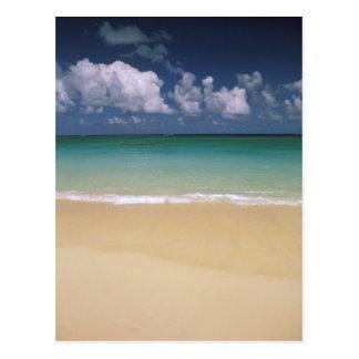 米国、ハワイ。 ビーチ場面 ポストカード