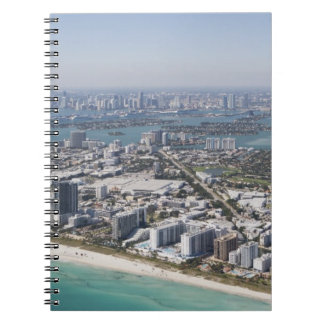 米国、フロリダ、マイアミのビーチ3との都市景観 ノートブック