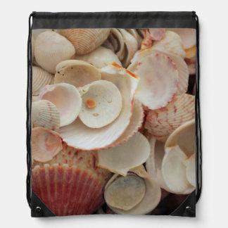 米国、フロリダ。 Santa Rosaの貝の閉めて下さい ナップサック
