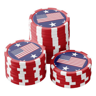 米国 ポーカーチップ