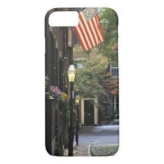 米国、マサチューセッツ、ボストンの標識丘 iPhone 8/7ケース